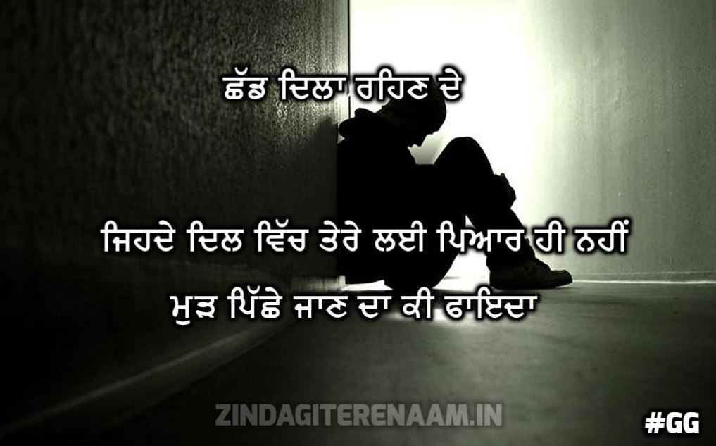BHUL JA PUNJABI SHAYARI | Chhad dila rehn de ohde dil vich tere lai pyar hi nahi mudh pichhe jaan da ki faida