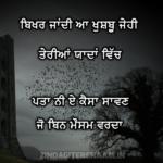 BIKHAR JANDI | Sad Shayari in Punjabi