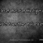 Teri teh di seema c || Shayari 2 lines...