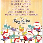 HAppy new year cute happiness wish