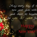 Happy new year to your family...