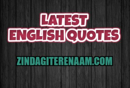 Latest English Quotes || Zindagi tere naam || Update best quotes and thoughts daily in english