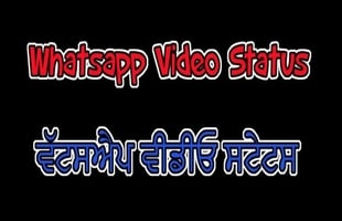 Whatsapp video status || zindagi tere naam || Punjabi status to share on whatsapp videos