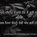 Teri akh bhari naal || sad Punjabi shayari || Punjabi shayari images