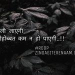 Mohobbat kam na ho payegi || true love Hindi shayari || shayari images