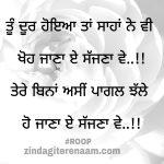 Tere bina asi pagl ho Jana || true love shayari || Punjabi shayari images