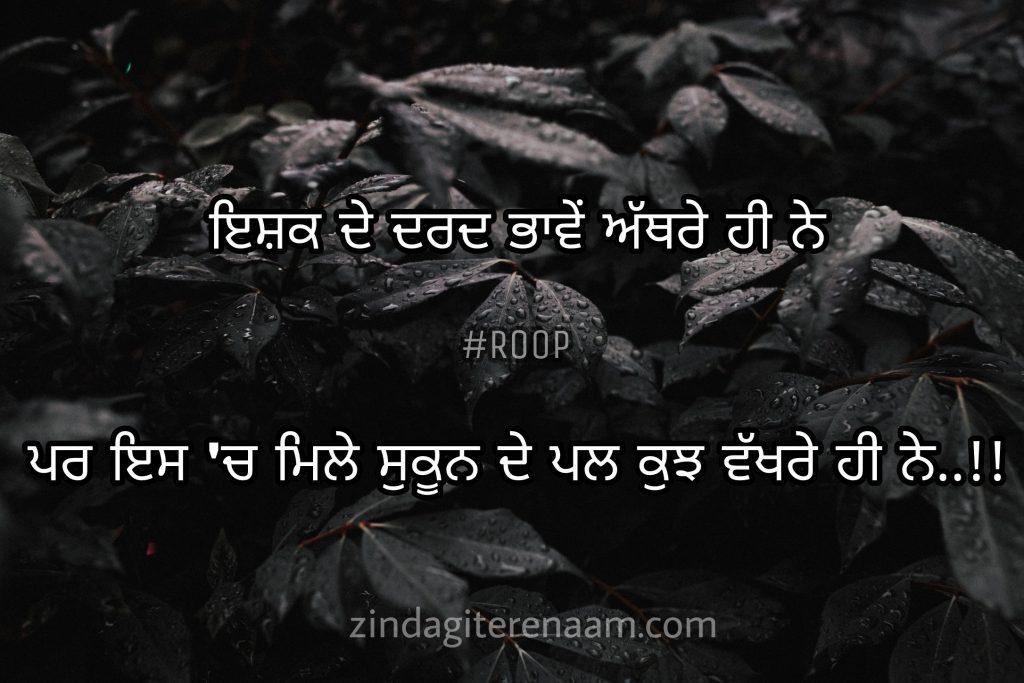 True love Punjabi shayari images. Best shayari images. Ghaint shayari images. Ishq shayari images. Love shayari images. Ishq de dard bhawein athre hi ne..!! Par es ch mile sukun de pal kuj vakhre hi ne..!!