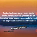 Tusi gulaaba de || Love Punjabi shayari