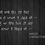 Jiwe kayi janma to vichde || love Punjabi shayari || Punjabi status images