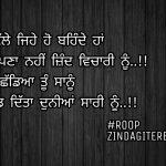 Chadd ditta duniya sari nu || sad but true shayari || Punjabi status images