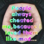 People always cheated me... || Sad Love English Quote