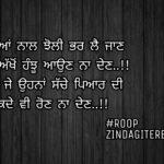 Tenu kade vi ron na den || Punjabi true line shayari || Punjabi status