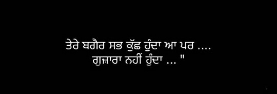 Tere bin || 2 lines Love Punjabi shayari