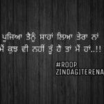 Tu hai taan mein haan || Punjabi love shayari || ghaint status