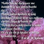 Woh saamne baithi thi || love shayari hindi