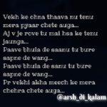 Mera chehra chete auga || Love shayari punjabi