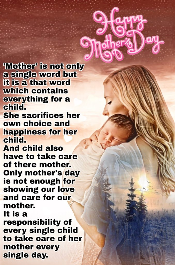 MOTHER IS NOT ONLY SINGLE || MOM ENGLISH QUOTE